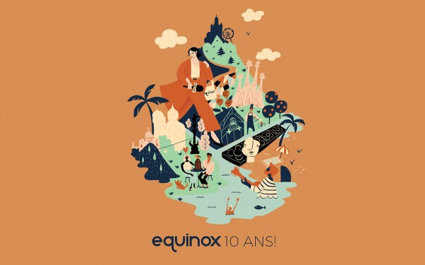 Illustration Equinox Radio